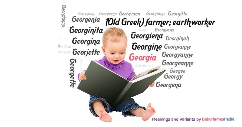 Meaning Of The Name Georgia
