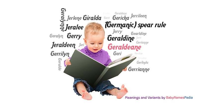 Meaning of the name Geraldeane