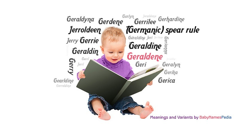 Meaning of the name Geraldene
