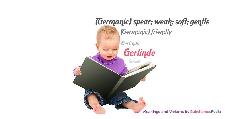 Meaning of the name Gerlinde