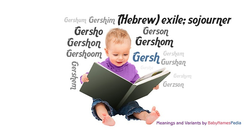 Meaning of the name Gersh