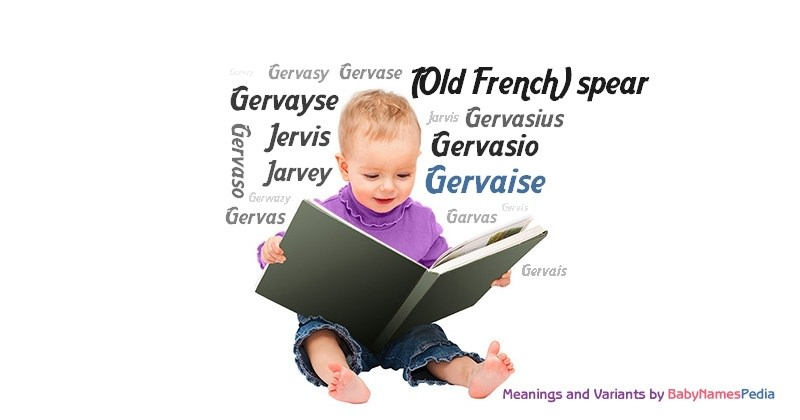 Meaning of the name Gervaise