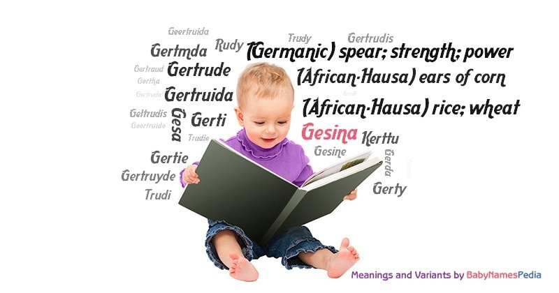 Meaning of the name Gesina