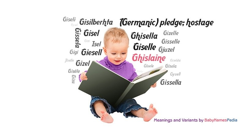 Meaning of the name Ghislaine