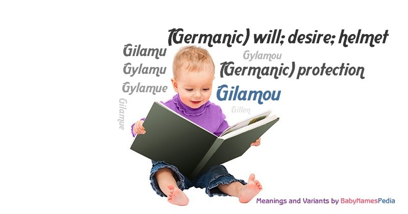 Meaning of the name Gilamou