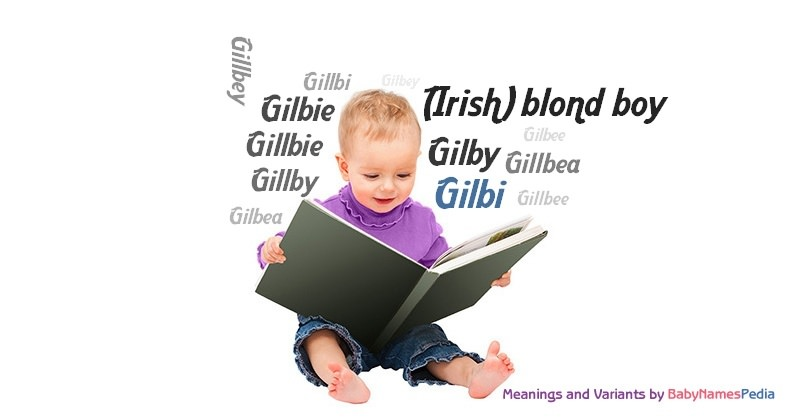 Meaning of the name Gilbi