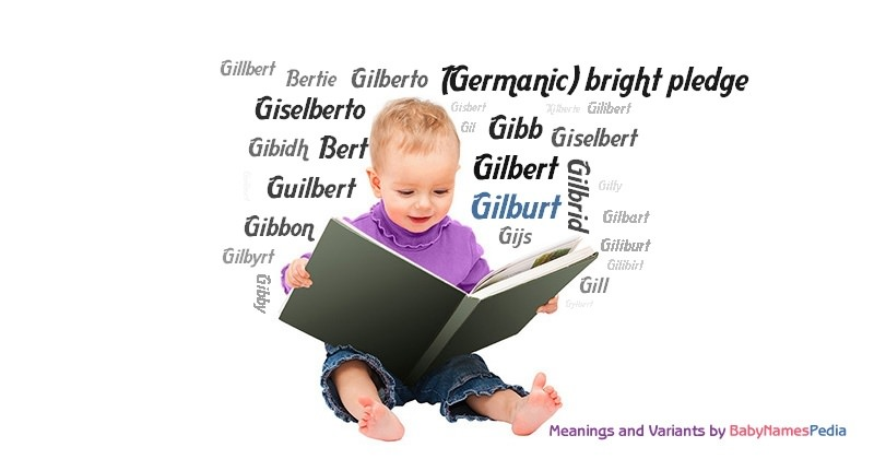 Meaning of the name Gilburt