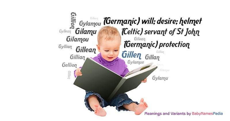 Meaning of the name Gillen