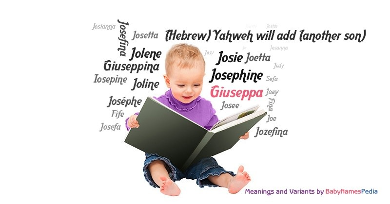 Meaning of the name Giuseppa