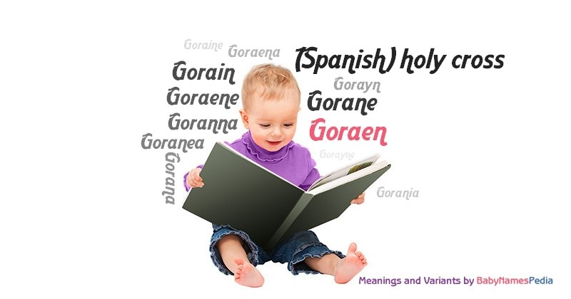 Meaning of the name Goraen