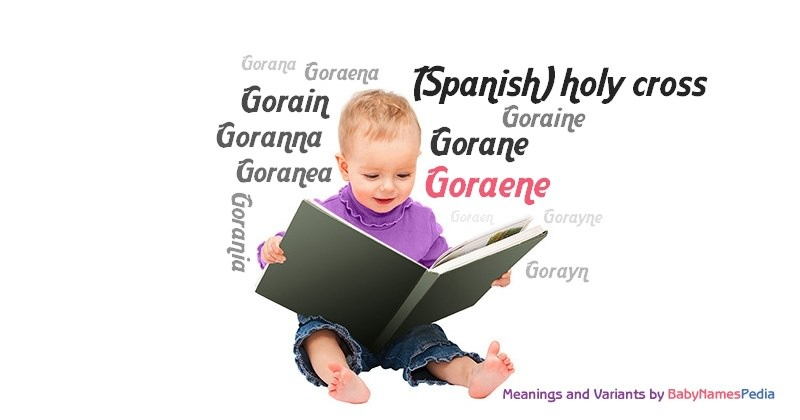 Meaning of the name Goraene