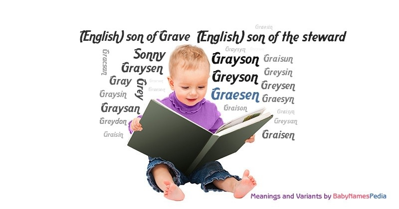 Meaning of the name Graesen