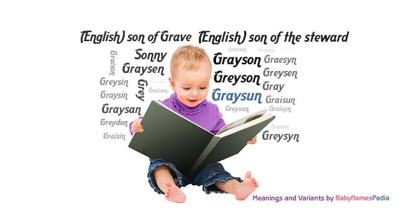 Meaning of the name Graysun