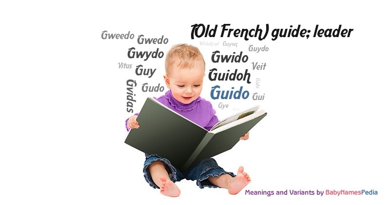 Meaning of the name Guido