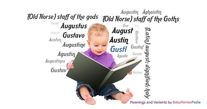 Meaning of the name Gustl