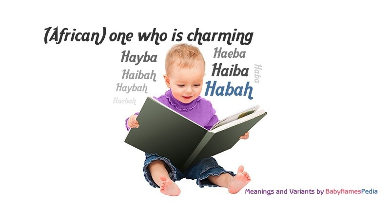 Meaning of the name Habah