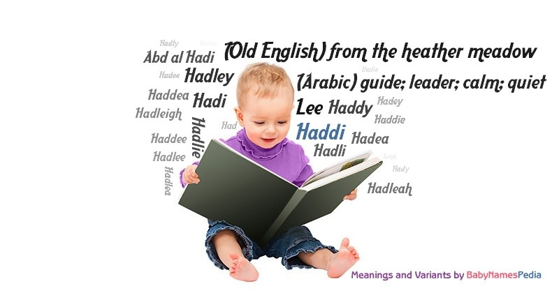 Meaning of the name Haddi