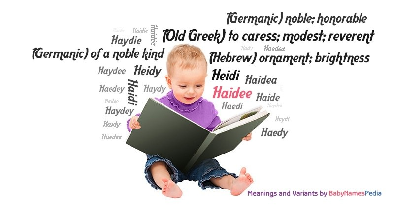 Meaning of the name Haidee
