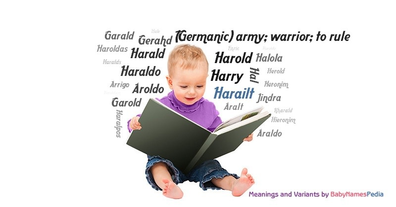 Meaning of the name Harailt