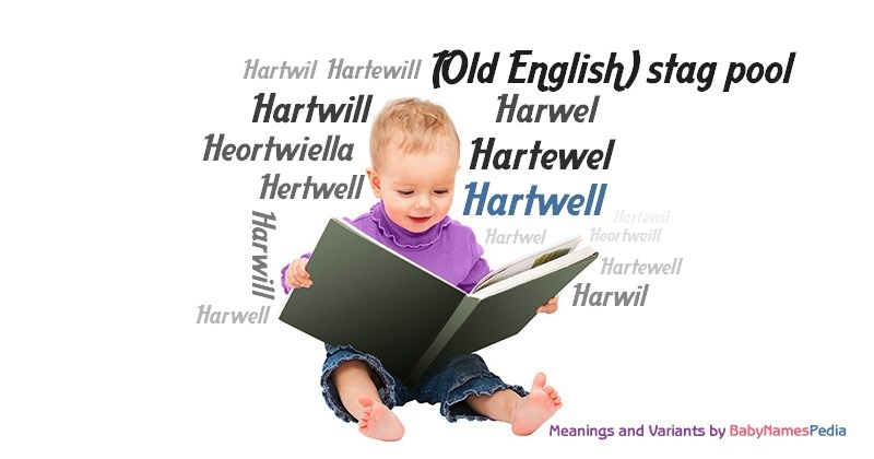 Meaning of the name Hartwell