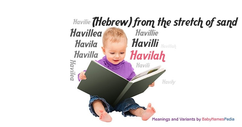 Meaning of the name Havilah