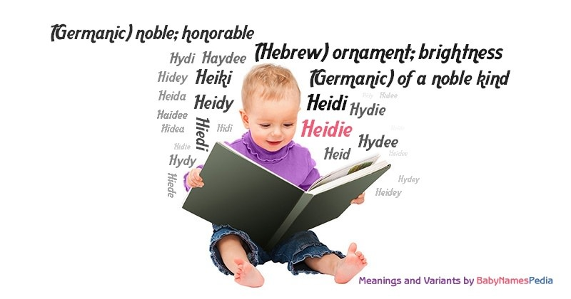 Meaning of the name Heidie