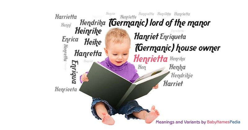 Meaning of the name Henrietta