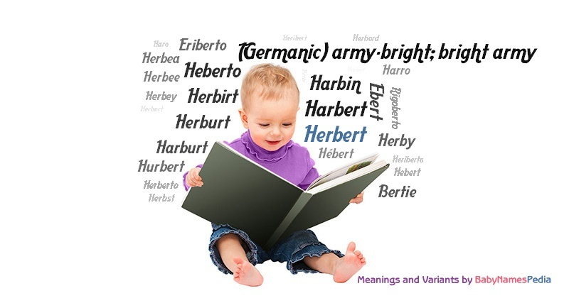 Meaning of the name Herbert