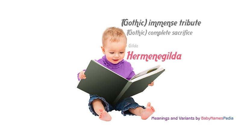 Meaning of the name Hermenegilda