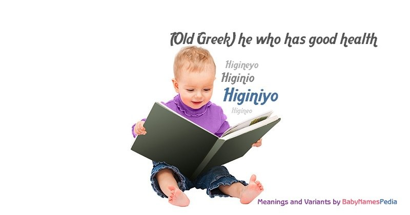 Meaning of the name Higiniyo