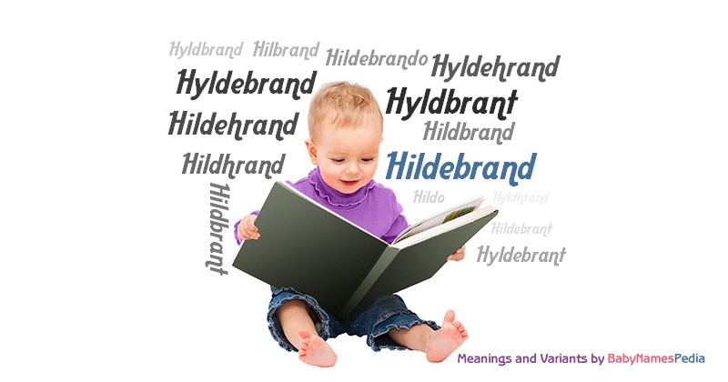 Meaning of the name Hildebrand