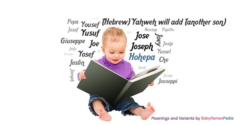 Meaning of the name Hohepa