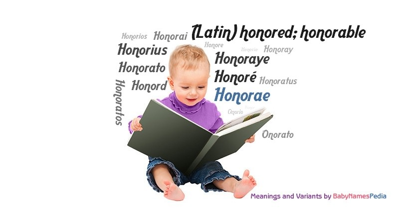 Meaning of the name Honorae