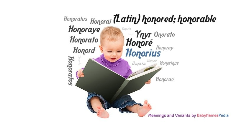 Meaning of the name Honorius