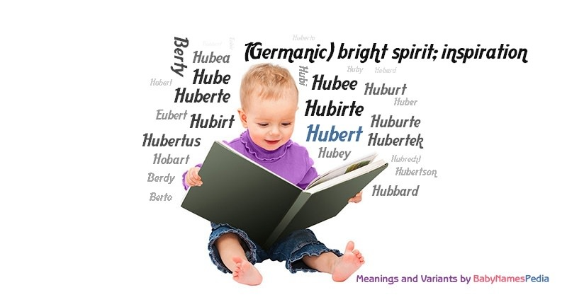Meaning of the name Hubert