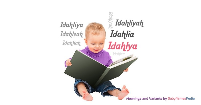 Meaning of the name Idahlya
