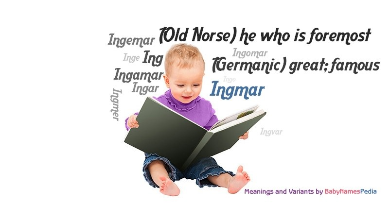 Meaning of the name Ingmar