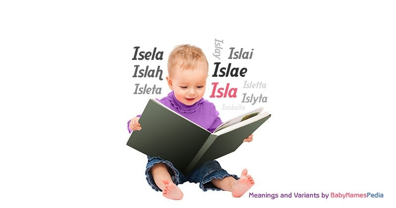 Meaning of the name Isla
