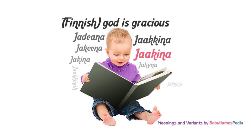 Meaning of the name Jaakina