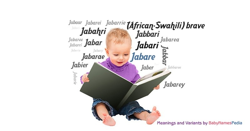 Meaning of the name Jabare
