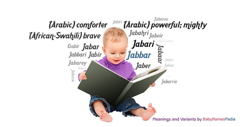 Meaning of the name Jabbar