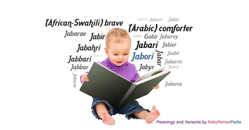 Meaning of the name Jabori