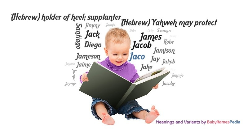 Meaning of the name Jaco