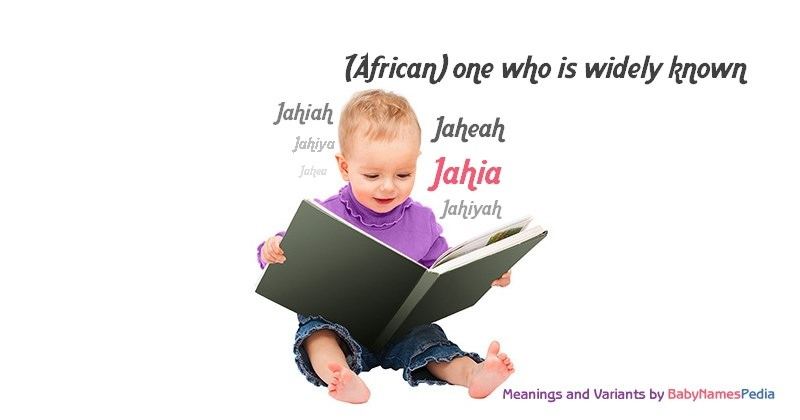 Meaning of the name Jahia