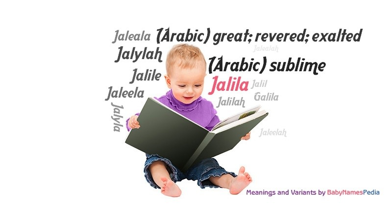 Meaning of the name Jalila