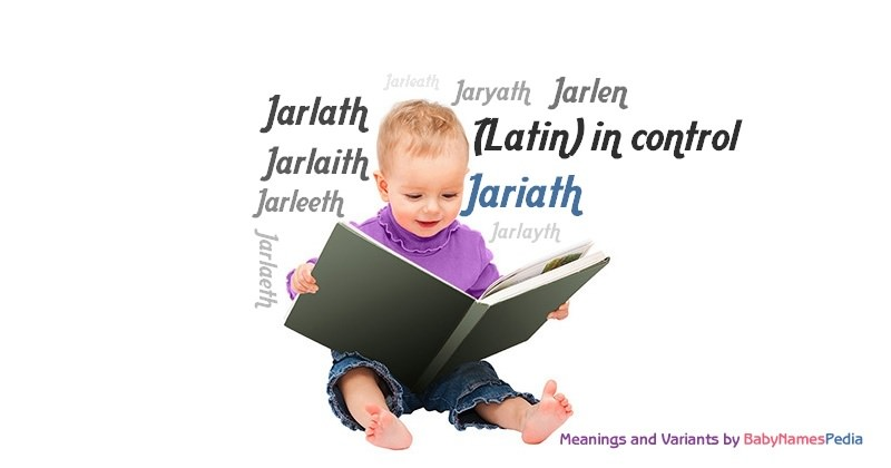 Meaning of the name Jariath