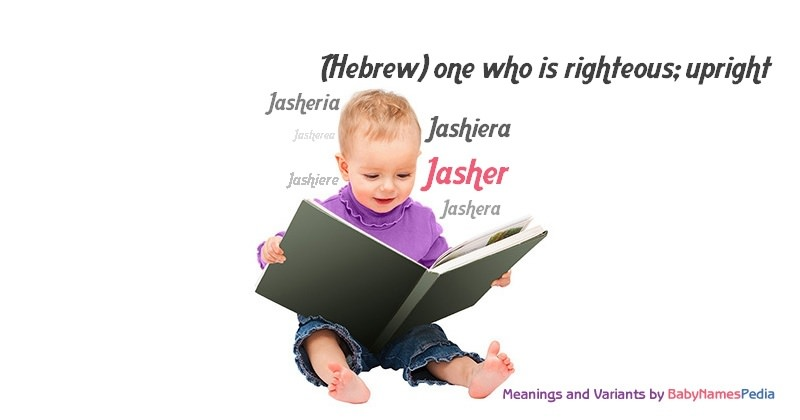 Meaning of the name Jasher