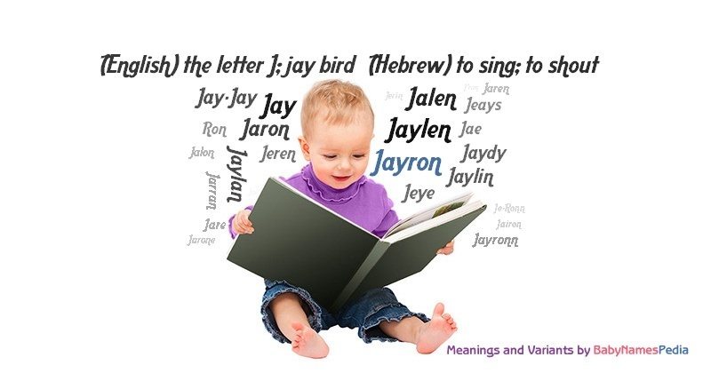 Meaning of the name Jayron