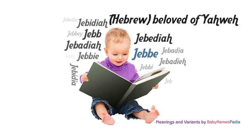 Meaning of the name Jebbe