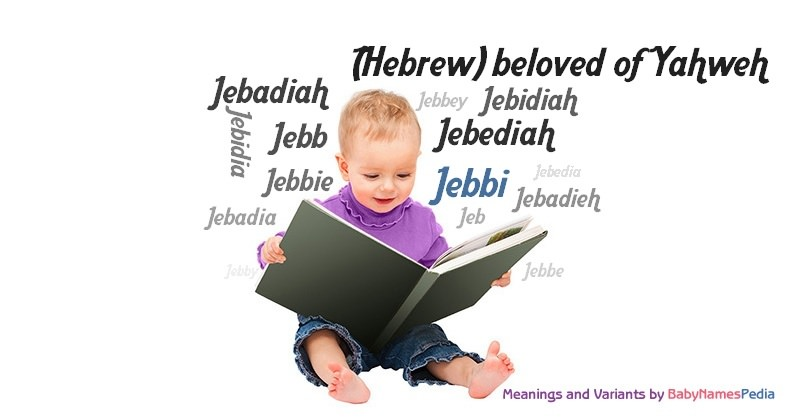 Meaning of the name Jebbi